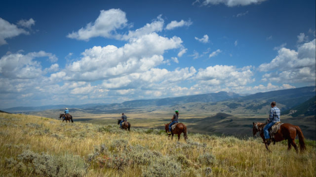 Take To The Trails: Resorts By Horseback