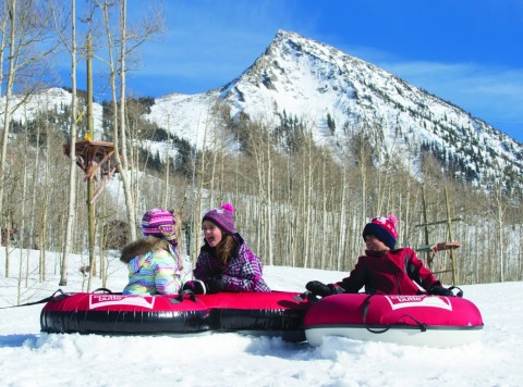 Crested Butte tubing