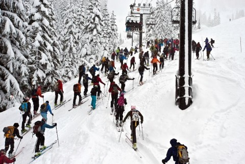 Uphill race kicks off at Summit at Snoqualmie
