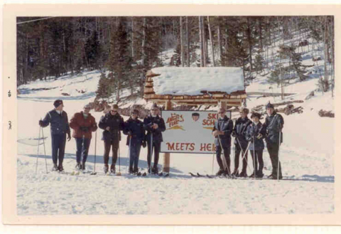 The first ski school convenes at Angel Fire in 1966