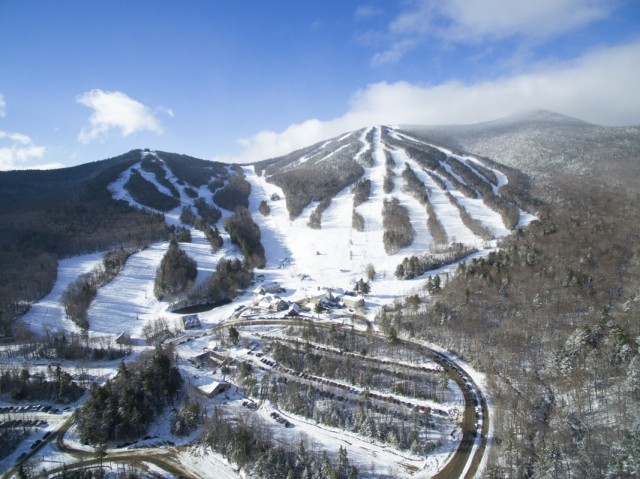 Green Peak Triple Chair Opening At Waterville Valley