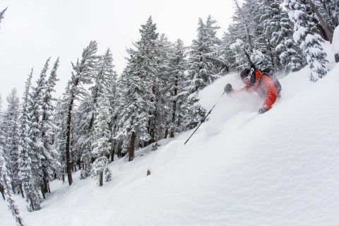 More pow at Sierra-at-Tahoe.