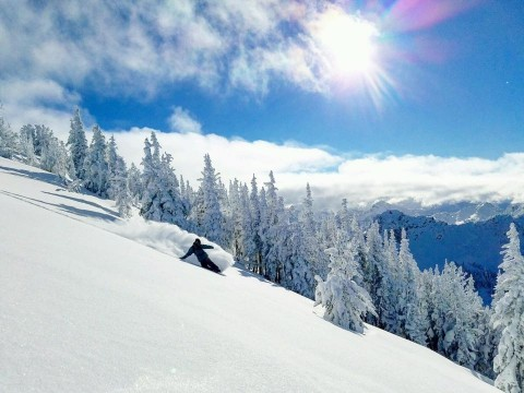 More pow' days at Crystal.