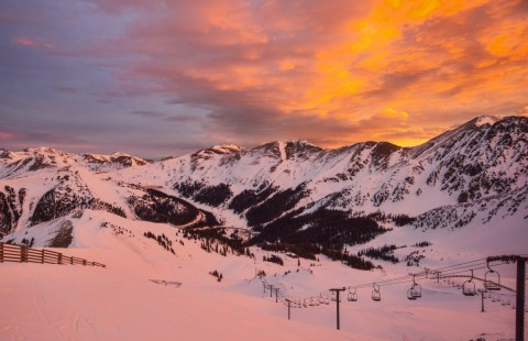 Sunrise in the Rockies (Arapahoe Basin/Facebook)