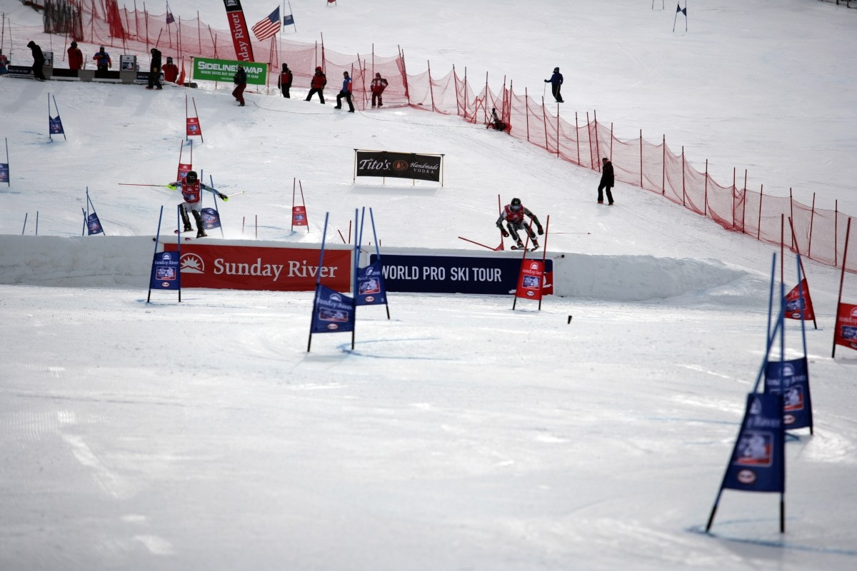 Success At Sunday River World Pro Ski Tour