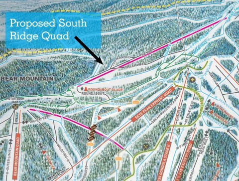 South Ridge quad Killington