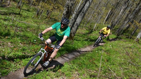 Boyne Highlands bike park is one of the nation's top bike parks.