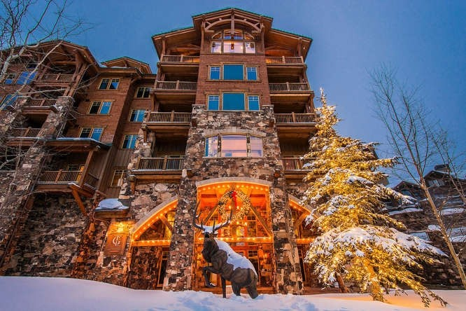 Grand Lodge Ski Condo in Empire Pass of Deer Valley.