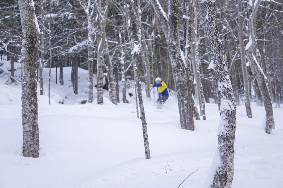Holidays on the slopes brought plenty of fresh snow last year. (Sunday River)