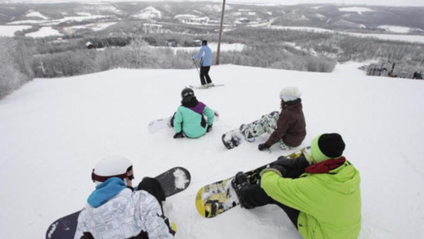 Snowboarders account for more than half the ticket sales at Frost Fire. (Frost Fire)
