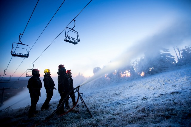 Killington-snowmaking