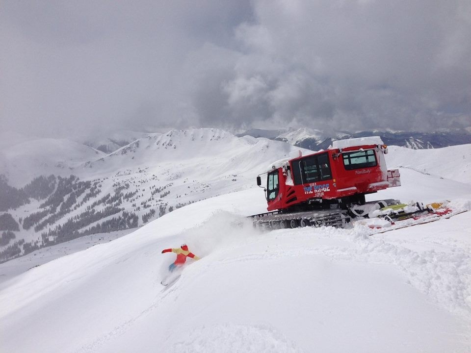 Only free snowcat skiing in Colorado. (Loveland/Facebook)