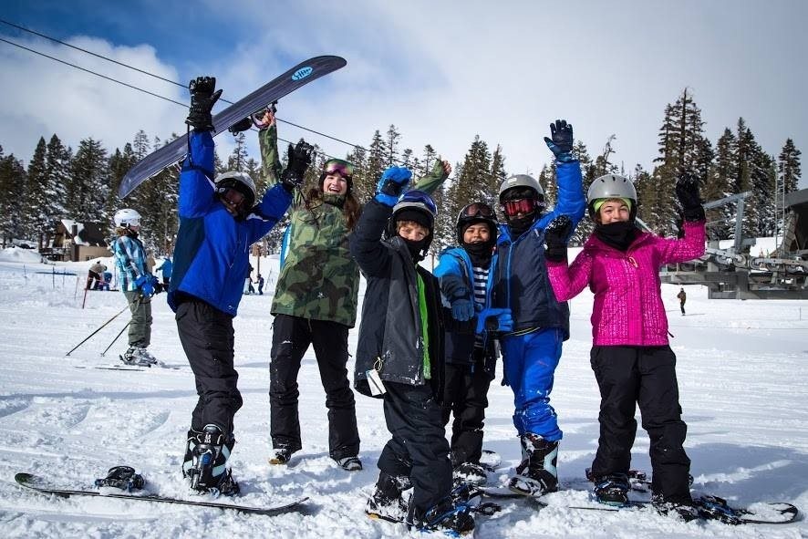 January is a great time to get outside. (Learn To Ski and Snowboard Month)