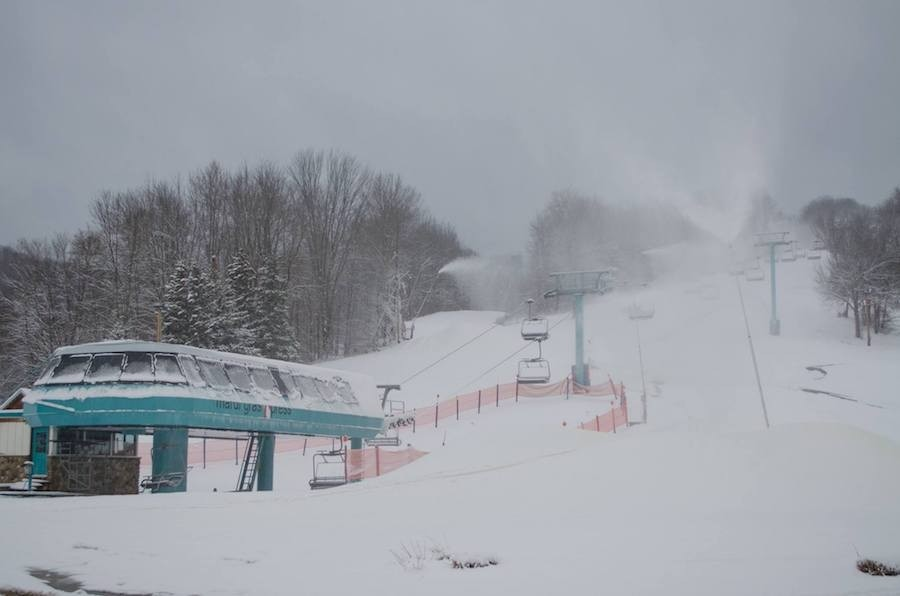 Holiday Valley snowmaking