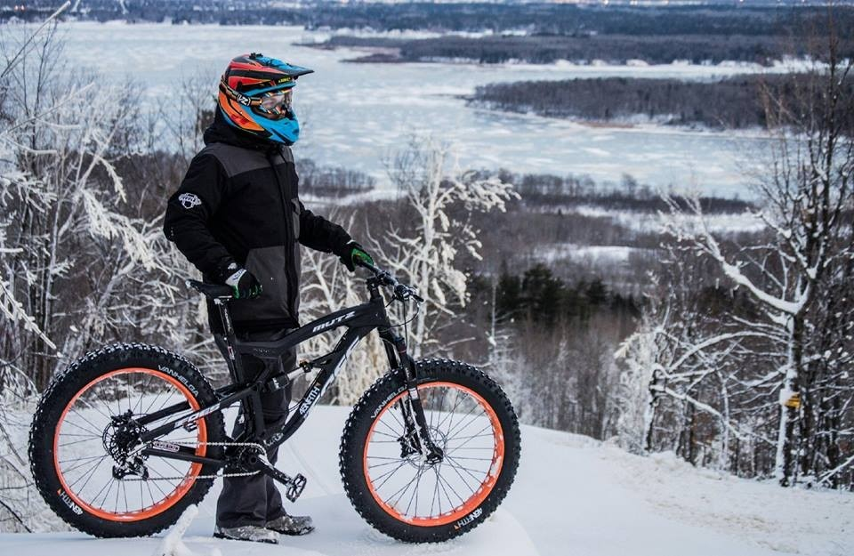 The Mountain offers lift-served fat tire biking on Sunday. (Spirit Mountain/Facebook)