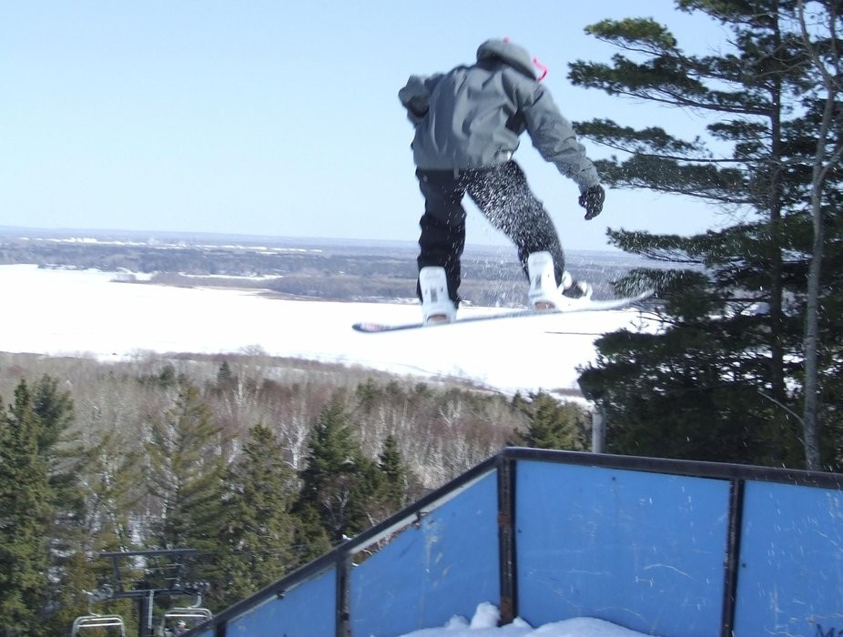 Spirit Mountain is known for its terrain parks. (Spirit Mountain/Facebook)