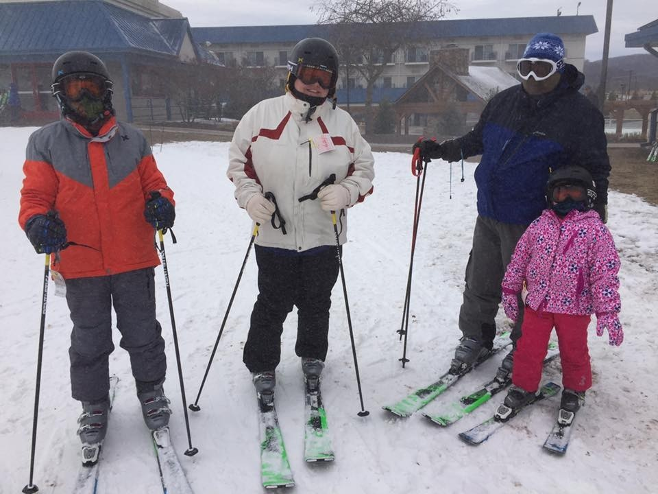 Young and old can learn to ski or ride. (National Learn to Ski and Snowboard Month/Facebook)