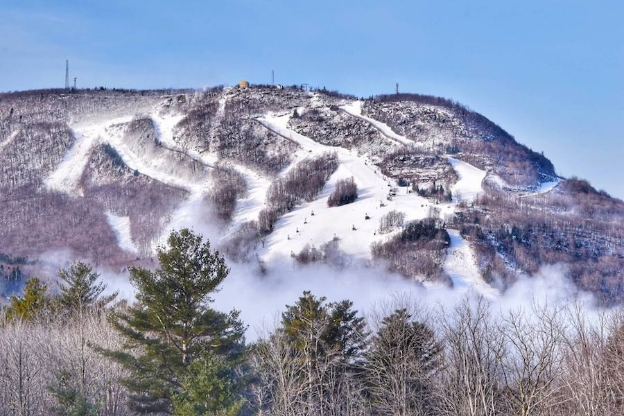 Snowmaking covers 100 percent of the mountain's trails. (Hunter)