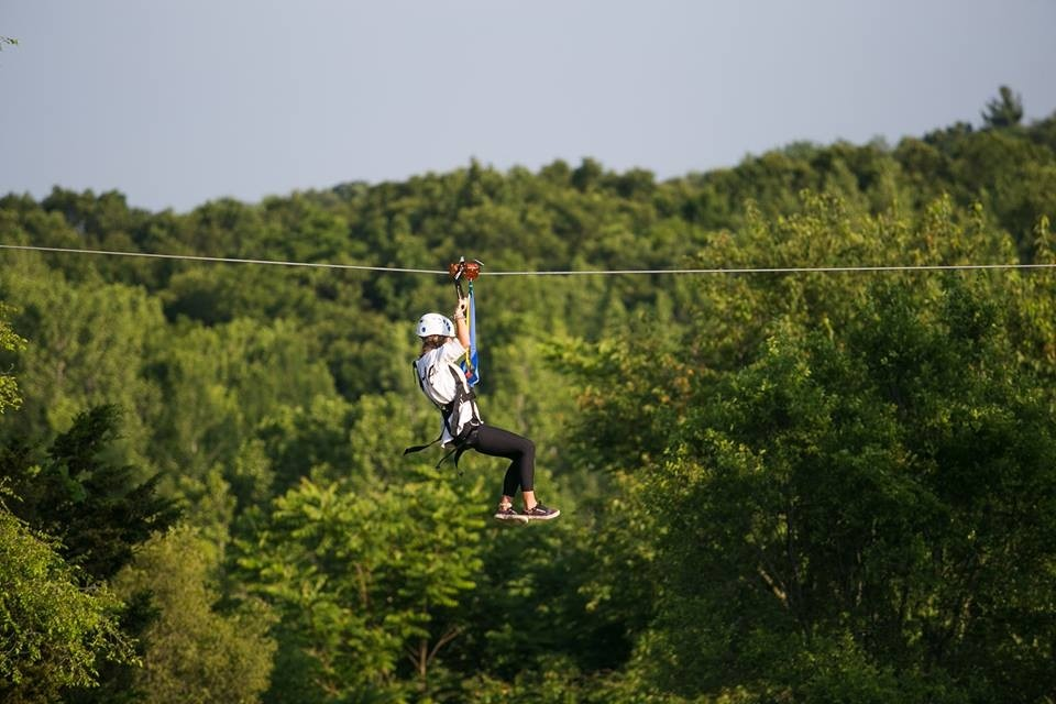 Cannonsburg ziplines, over a mile, are the longest in the Midwest. (Cannonsburg/Facebook)