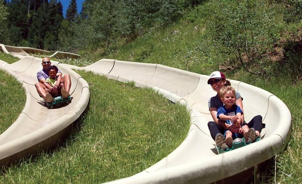 Hit the Alpine Slide to make up for lost time. (Purgatory/Facebook)