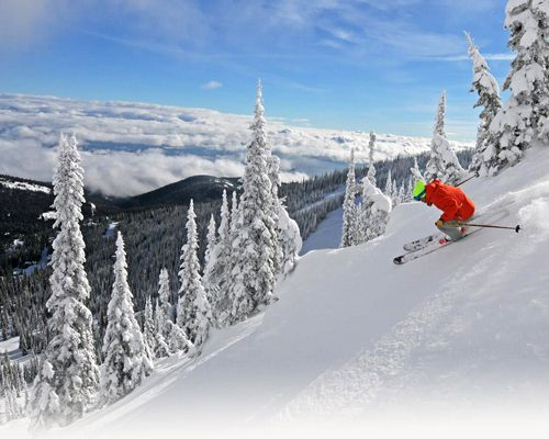 FEATURED RESORTSchweitzer Mountain, Idaho