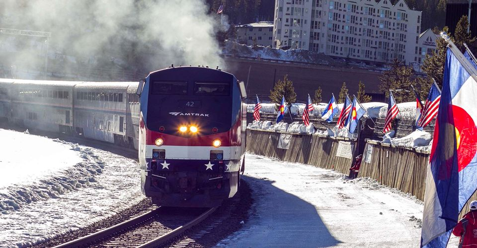 Trains, Planes And No Automobiles: Ski Train Returns to Colorado's Winter Park Resort