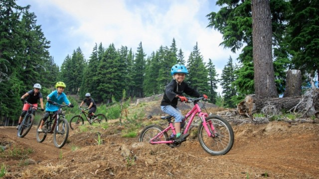 Mt. Bachelor mountain biking
