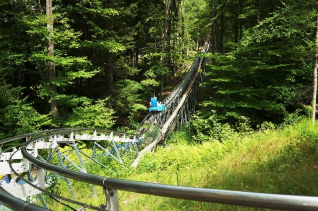Berkshire East mountain coaster
