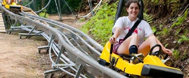 Greek Peak mountain coaster