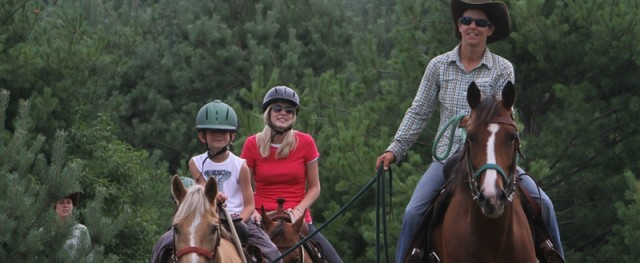 Boyne Mountain trail ride