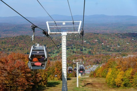 Stratton fall foliage