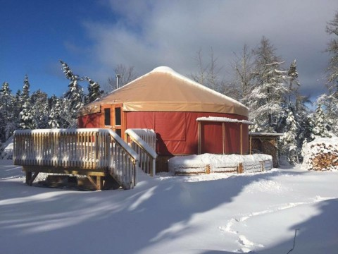 Whisper Ridge yurt