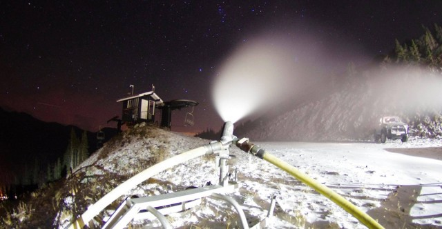 Snowmaking Underway At Loveland, A-Basin, Copper Mountain