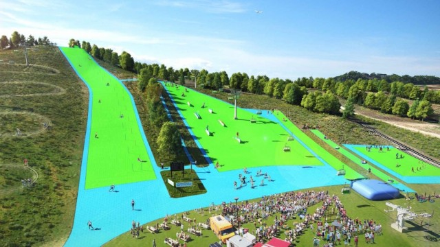Buck Hill Opens Largest Artificial Ski Slope In North America