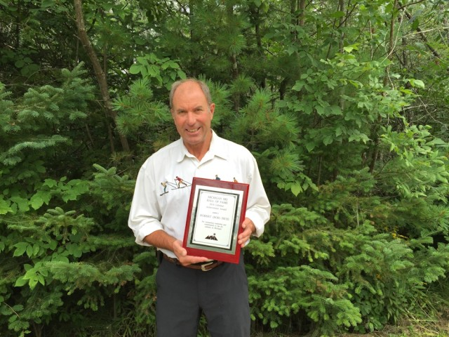 Bob Frye Inducted To Michigan Ski Hall Of Fame