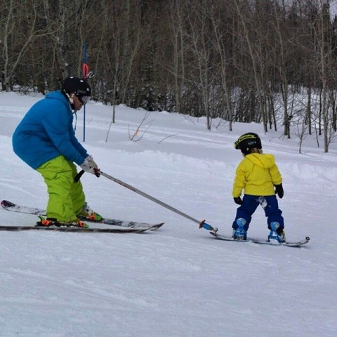 Professional instructors have devised cool ways to get kids on the slopes
