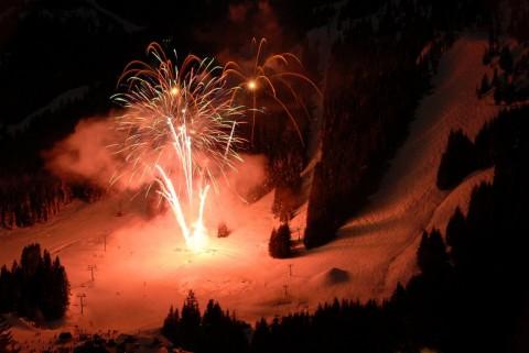 Crystal Mountain fireworks