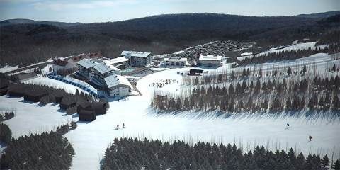 Mount Snow Carinthia Lodge rendering