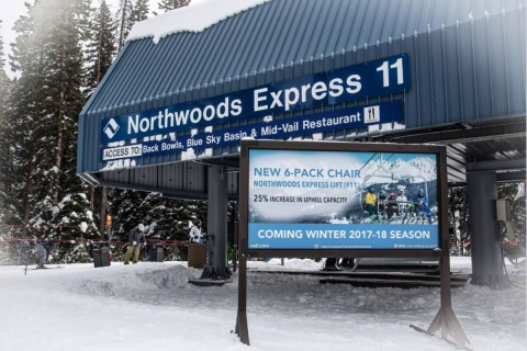 New Northwoods lift at Vail aims to ease mid-mountain congestion