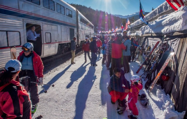 All Aboard! Winter Park Ski Train Back On Rails