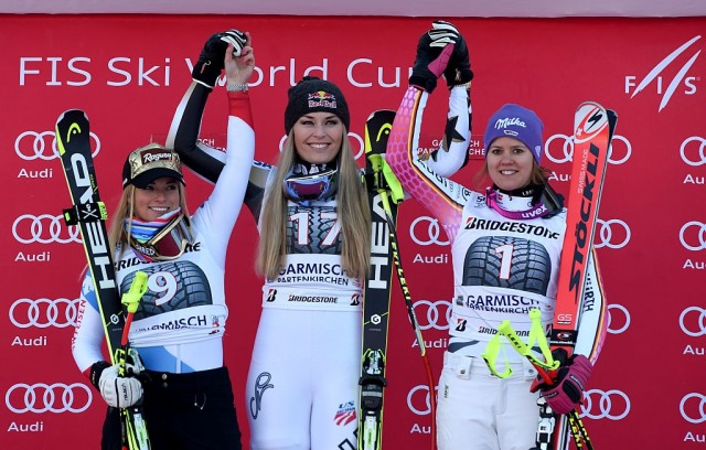 Vonn Returns To Top Form