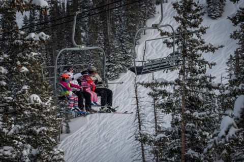 Monarch Mountain family