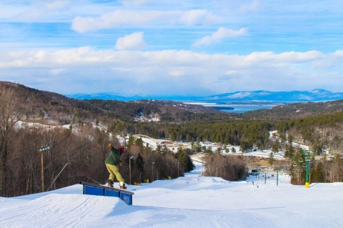 N.H.'s largest lake from Gunstock