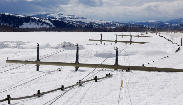 Major Winter Storm Knocks Out Power To Jackson Hole