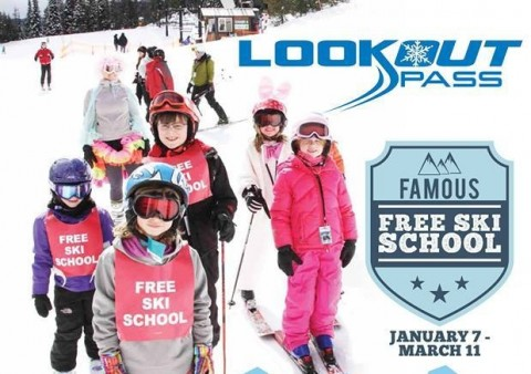 Free ski school for 75 years