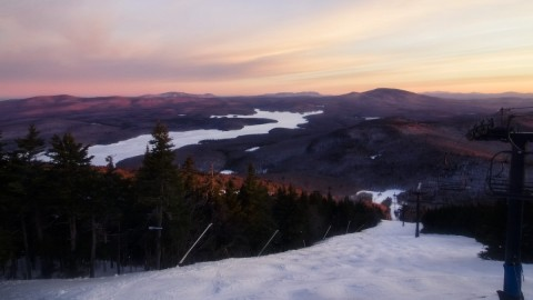 Mount Snow dawn