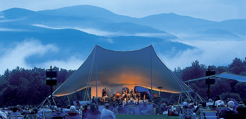 Mountain vistas at Trapp Family Lodge Music in the Meadow. (Trapp Family Lodge)