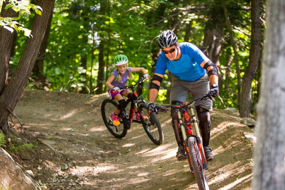 Terrain for every age and ability at Evolution Bike Park. (Okemo/Facebook)