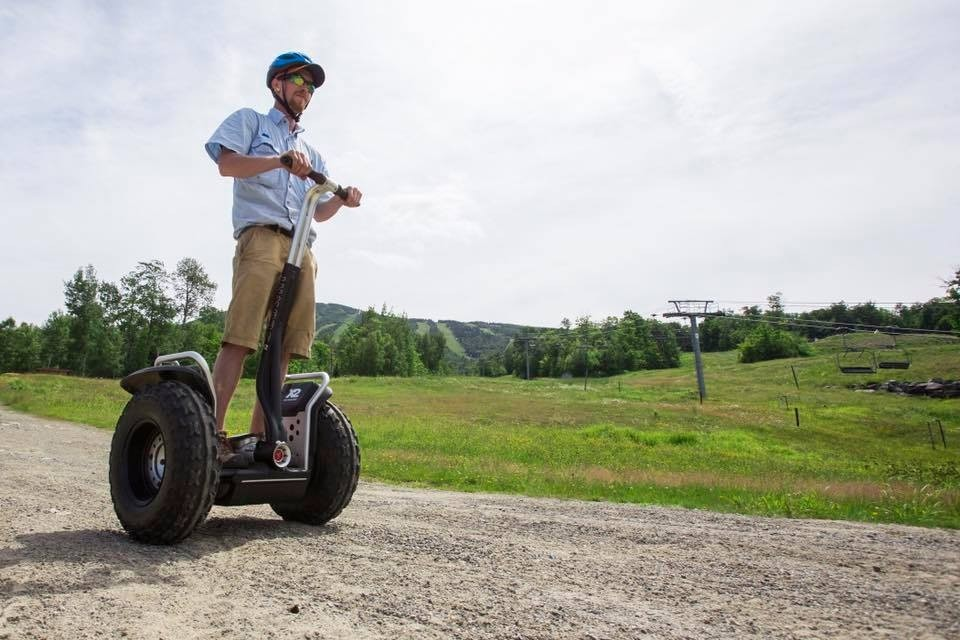 Hit the trail with Sugarloaf guides, Segway-style. (Sugarloaf/Facebook)