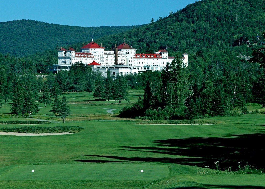 The historic Donald Ross-designed Mount Washington course. (Omni Mount Washington  Resort)
